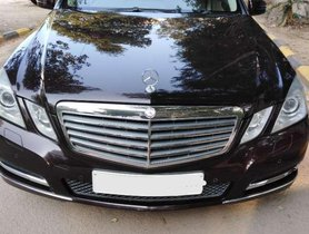 Used Mercedes Benz E Class car 2011 AT for sale at low price