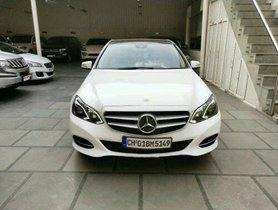 2017 Mercedes Benz E Class E 250 Edition E Diesel AT for sale in Chandigarh