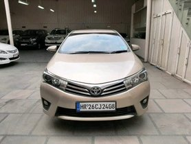 Used 2014 Toyota Corolla Altis VL AT Petrol low price