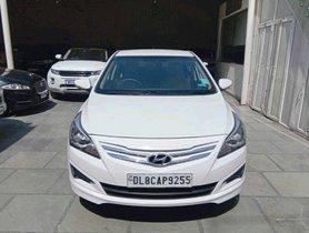 2017 Hyundai Verna 1.6 CRDI AT SX Option Petrol MT for sale in New Delhi