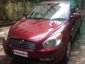 Used Hyundai Verna car MT at low price