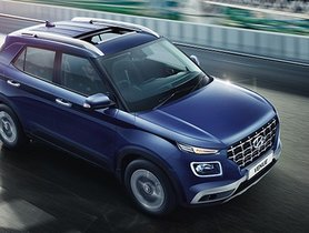 Hyundai Venue 1.0-litre Turbo Petrol Done 0-100 Kmph Sprint In Less Than 11 Seconds
