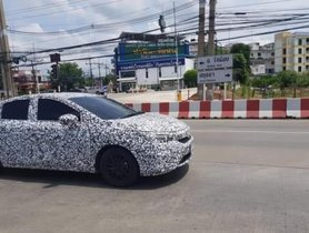 Next-Gen Honda City Spied in Thailand For The First Time Ever