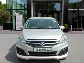 Used Maruti Suzuki Ertiga VXI CNG MT car at low price