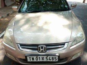 Used Honda Accord car MT at low price