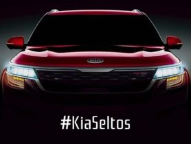 Kia Seltos Has Its Front End Disclosed In A New Teaser Prior To Its Unveil