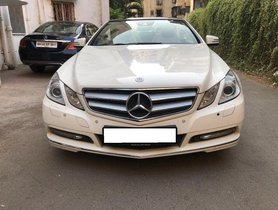 2011 Mercedes Benz E Class AT for sale