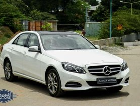 Mercedes Benz E Class 2014 AT for sale