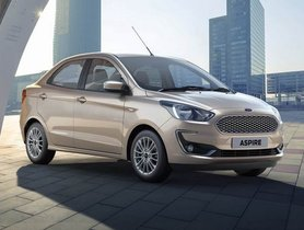Ford Offers Discount Of Up To Rs 1.25 Lakh On Aspire, Freestyle and EcoSport