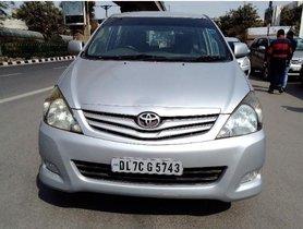 2010 Toyota Innova 2.5 G4 Diesel MT for sale in New Delhi