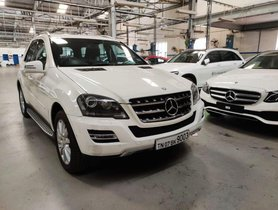 2011 Mercedes Benz M Class ML 350 CDI Corporate AT for sale at low price
