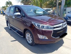 Used Toyota Innova Crysta  2.4 ZX MT car at low price