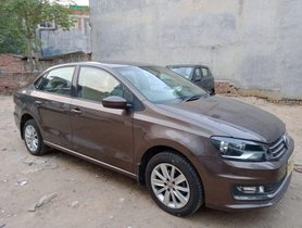 Used 2016 Volkswagen Vento 1.5 TDI Highline AT for sale