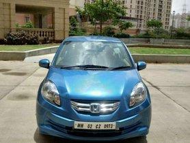 Used Honda Amaze car MT at low price