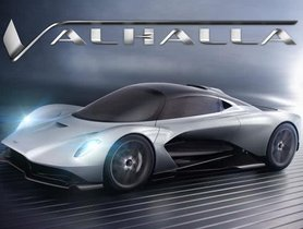 Aston Martin's Upcoming Mid-Engined Hypercar To Be Named Valhalla
