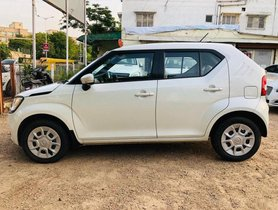 Used Maruti Suzuki Ignis 1.2 AMT Delta AT car at low price