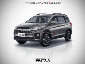 Maruti Ertiga Cross Rendering Speculates What The New Model Would Look Like