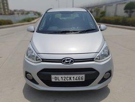 2015 Hyundai Grand i10 Asta Petrol AT for sale in New Delhi