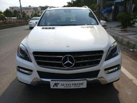 Used Mercedes Benz M Class car AT at low price