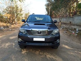 2016 Toyota Fortuner  4x4 AT for sale at low price