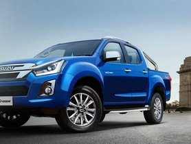 2019 Isuzu D-Max V-Cross (facelift) Launched At Rs 15.51 Lakh