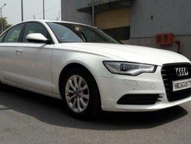 2014 Audi A6 2.0 TDI Premium Plus Diesel MT for sale in New Delhi