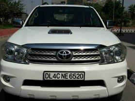 2010 Toyota Fortuner 3.0 MT Diesel for sale in New Delhi