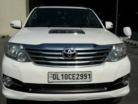 2012 Toyota Fortuner 4x2 Diesel AT for sale in New Delhi