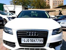 2011 Audi A4 2.0 TDI MT for sale