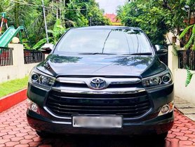 Used Toyota Innova Crysta car AT at low price