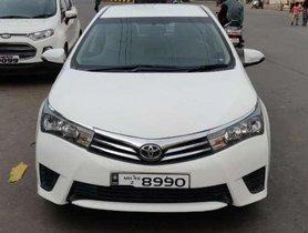Toyota Corolla Altis G Diesel, 2014, MT for sale