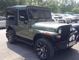 Used Mahindra Thar CRDe MT car at low price