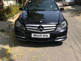 Used Mercedes Benz C-Class car AT at low price