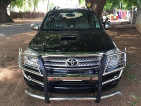 Used Toyota Fortuner car  4x4 MT for sale at low price