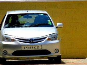 Used Toyota Etios Liva car MT at low price