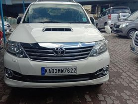 Used Toyota Fortuner 4x2 4 Speed AT TRD Sportivo 2015 for sale