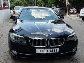 BMW 5 Series 520d luxury line 2012