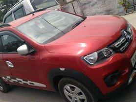 Used Renault KWID car MT at low price