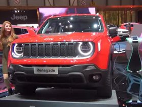 Plug-In Hybrid Jeep Renegade Revealed