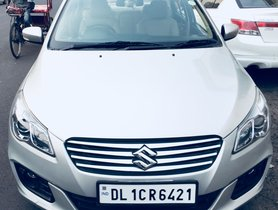2016 Maruti Suzuki Ciaz ZDI DIesel MT for sale in New Delhi