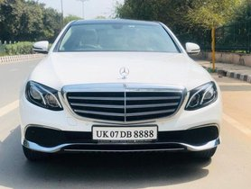 2018 Mercedes Benz E Class E 220 d AT for sale at low price
