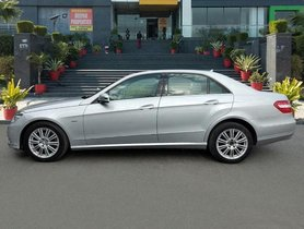 2012 Mercedes Benz E Class MT for sale at low price