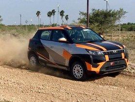 Mahindra XUV300 Rally-spec Model Revealed