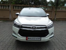 2016 Toyota Innova Crysta 2.8 ZX AT for sale at low price