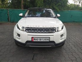 Used Land Rover Range Rover Evoque 2.2L Pure AT car at low price