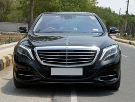 Used Mercedes Benz S Class AT car at low price
