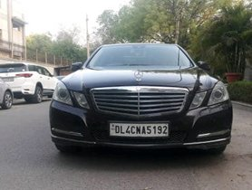 2011 Mercedes Benz E Class E250 CDI Avantgrade Diesel AT in New Delhi