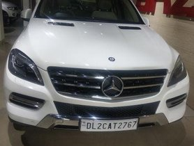 Mercedes Benz M Class  ML 350 4Matic AT 2014 for sale