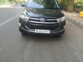 2017 Toyota Innova Crysta 2.4 G MT for sale at low price