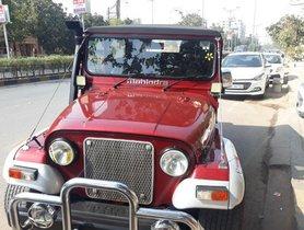 Mahindra Thar 4X4 MT 2014 for sale